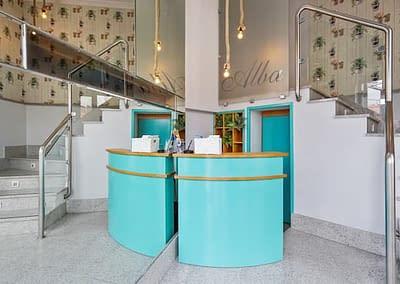 Recepción del Hotel Alba de Soria