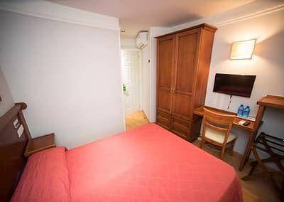Habitación doble en Hotel Alda de la ciudad de Soria