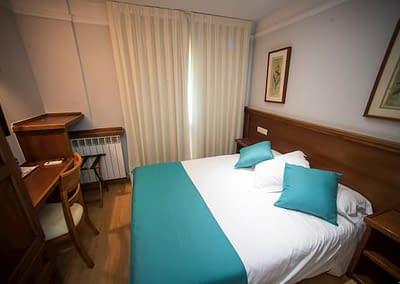 Habitación doble del Hotel Alba de Soria