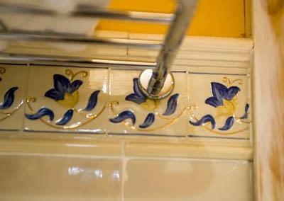 Detalles del toallero del Boutique Hotel Castilla