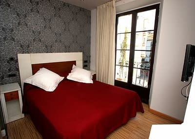 habitacion doble con balcon