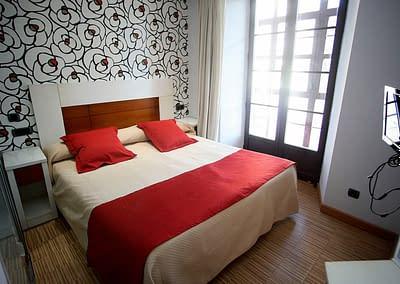 Habitación de Hoteles Soria en el centro de Soria